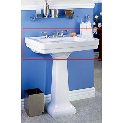 St Thomas Creations Bath Sink - Pedestal Richmond (Creations Pedestal)