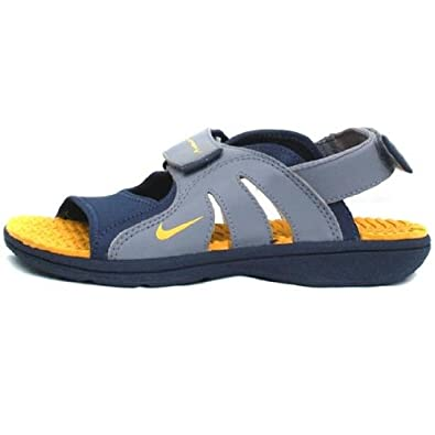 12 Nike Tongssandales 37 Bleu Junior Taille Sunray Adjust Ovn0wN8m