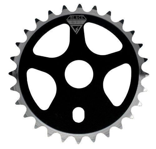 Black Ops Micro Drive BMX Chain Ring, 25t, Black by Black - Bmx Micro Drive