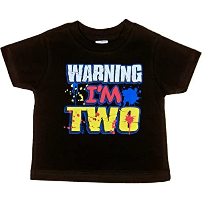 Toddler T-Shirt : WARNING - I'M TWO