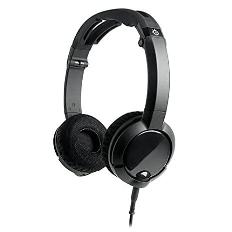 ce7d75152de Amazon.com: SteelSeries Flux Gaming Headset for PC, Mac, and Mobile Devices  (Black): Computers & Accessories