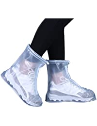Rain Shoes Transparent Waterproof Snow Men Women Rain...