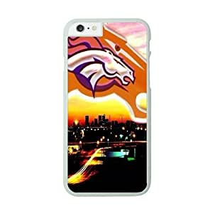 NFL Case Cover For HTC One M8 White Cell Phone Case Denver Broncos QNXTWKHE1022 NFL Phone Boys
