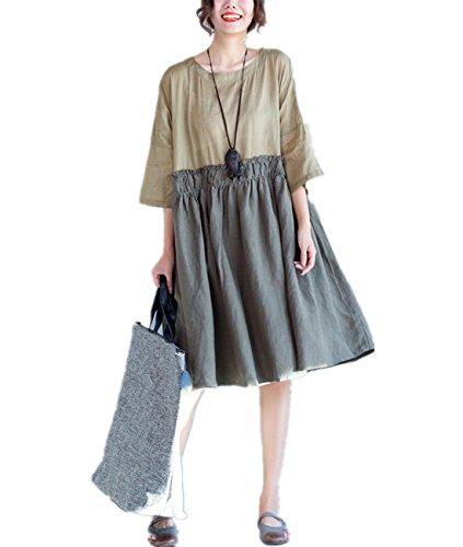 linen and silk dresses - 8