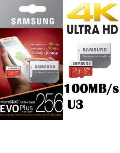 Samsung - Tarjeta de Memoria microSD con Adaptador (256 GB ...