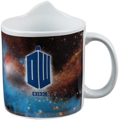 Multicolored Vandor 16001 Doctor Who Tardis 20 Ounce 3D Ceramic Mug