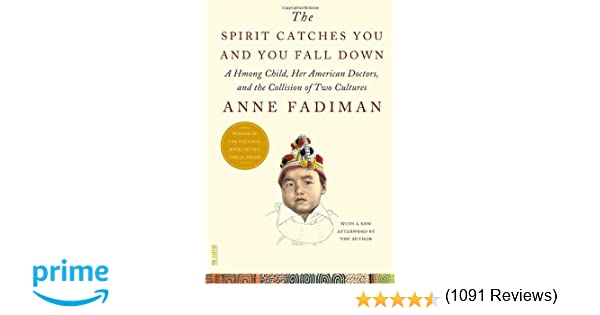 the spirit catches you and you fall down a hmong child her  the spirit catches you and you fall down a hmong child her american doctors and the collision of two cultures fsg classics anne fadiman