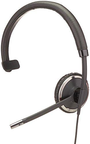 Plantronics Blackwire C510-M Monaural Over-the-Head Corded Headset, Microsoft ()