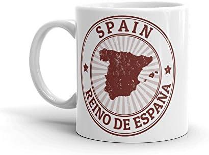 DV Mugs Ltd Taza de café de Alta Calidad de España Espana, 284 ML #4731: Amazon.es: Hogar