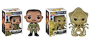 Funko POP ID4: Independence Day Steve Hiller and Alien 2 Piece BUNDLE by Independence Day