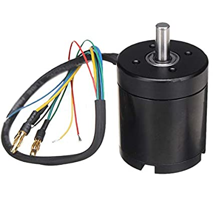 amazon com: n5065 330kv 1800w metal brushless sensorless motor for electric  skateboard scooter set: home audio & theater