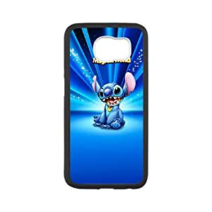 Disneys Lilo And Stitch Samsung Galaxy S6 Cell Phone Case Black Exquisite designs Phone Case TF64H948