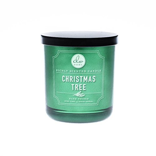 UPC 683327901443, DW Home 10 oz Christmas Tree 1 Wick Candle Holiday Collection