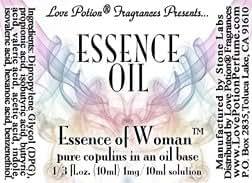 Love Potion® UNscented Pheromone Blend for Women: Essence Oil