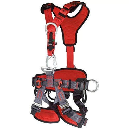 Camp GT ANSI Fullbody Climbing Harness Size 2 Large to XXL ANSI Certified 2019 (Best Climbing Harness 2019)