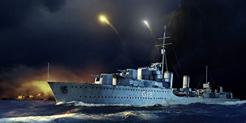 Trumpeter 1/350 HMS Zulu British Tribal Class Destroyer 1941