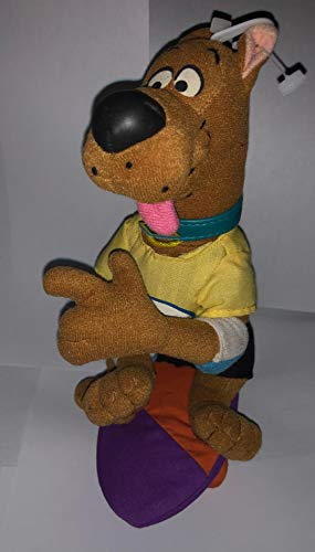 SCOOBY DOO - 8in Plush SKATE BOARD SCOOBY - Plush - GREAT COLLECTIBLE AND HARD TO FIND