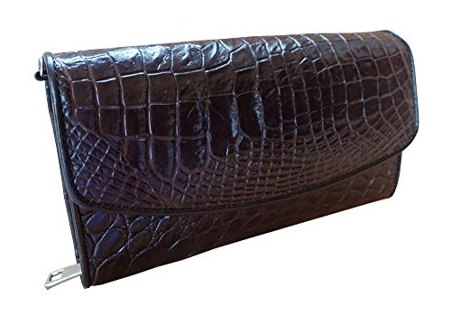 Really Bag Leather (3 In 1 Cheapest Price Genuine Crocodile For You Can Be Purse Hand Bag Shoulder Bag Really Genuine Crocodile Leather)