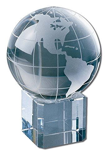 Amlong Crystal World Globe (2.2