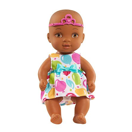 """Search : Just Play 9"""" Waterbabies Sweet Cuddlers Doll - African American, Celebration"""