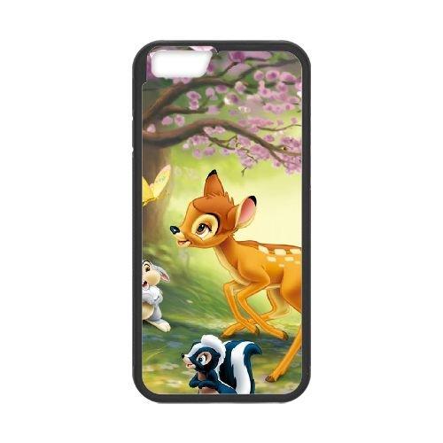Bambi 017 coque iPhone 6 4.7 Inch cellulaire cas coque de téléphone cas téléphone cellulaire noir couvercle EOKXLLNCD26182