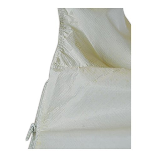 Kimberly-Clark 44327 KleenGuard A40 Liquid & Particle Protection Coverall with Hood, 2XL, White, 4XL (Pack of 25) by Kimberly-Clark (Image #1)