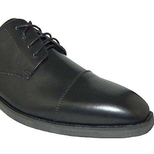 Shoe Artist Johnny Black Cap Toe Oxford, Uomo