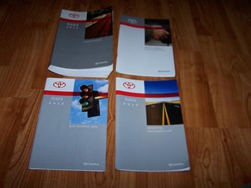 2012 toyota rav4 owners manual toyota amazon com books rh amazon com toyota rav4 2013 manual toyota rav4 2014 manual pdf