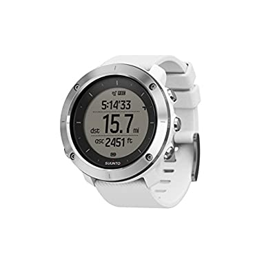 Suunto Traverse White GPS Outdoor Watch (SS021842000)