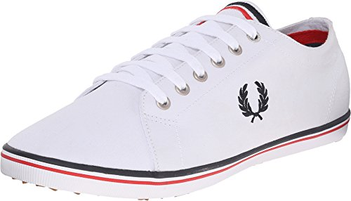Fred Perry Kingston Twill Sneaker White 11 D UK (12 US) ()
