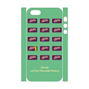 QSWHXN Cover Custom New Pattern Printing Charlie and the Chocolate Factory Phone 3D Case For iPhone 5,5S [Pattern-5]