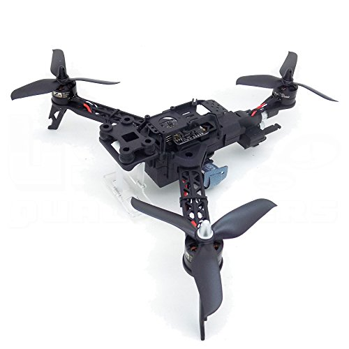Trifecta 295mm FPV Folding Tricopter Kit with ZTW Spider 2206 Motors 2-3s ESCs Naze32 Flight Controller