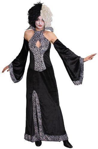 Cruella Deville Fancy Dress Costume Size UK 10-14 (disfraz ...