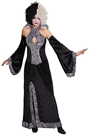 Cruella Deville Fancy Dress Costume Size UK 10-14 (disfraz ...
