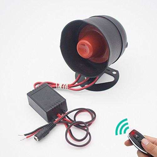 EACION Smart Home System - Alarma con Mando a Distancia, Alarma para Sirena, Voz Fuerte, Ideal para Sistema de Protección de...