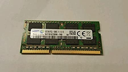 Samsung 8GB PC3-12800 DDR3-1600MHz CL11 Chip Notebook Memory M471B1G73DB0-YK0 Memory at amazon