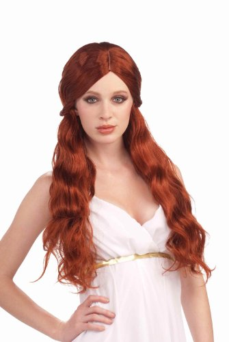 Aphrodite Wig (Forum Novelties Women's Venus Wig, Auburn, One Size)