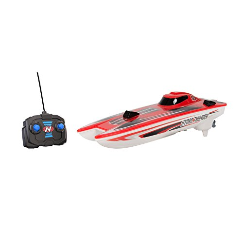Fast Stable Easy to Maneuver Sleek Easy Care Cut Through The Waves in Style Dual Motored RED/Black/White Hydro Thunder for Super Fun Water Play Cruising