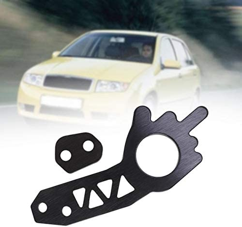 Broco Car Universal Front//Rear Towing Hook Set Fit for Most Car Towing Ring Black
