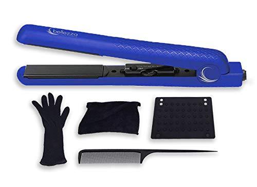 Bellezza Bza125bu Lumino 1.25 Inch Flat Iron, blue