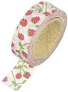 Love My cintas Raspberry washi cinta adhesiva, papel, multicolor, 15mm x 10m, 3piezas