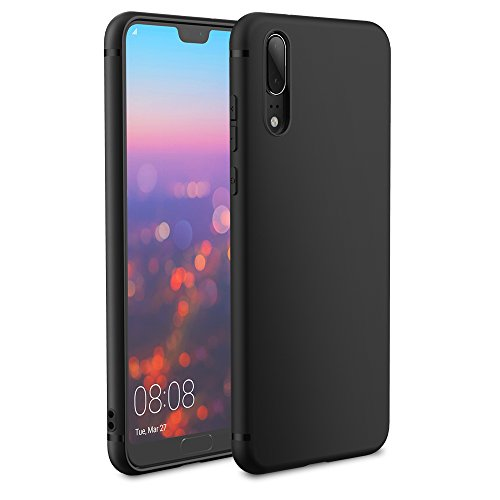 Huawei P20 Case, EasyAcc Black TPU Cover Phone...