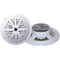 Pyle 100 Watts 5.25 2 Way White Marine Speakers