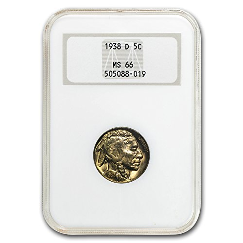 1938 D Buffalo Nickel MS-66 NGC Nickel MS-66 NGC