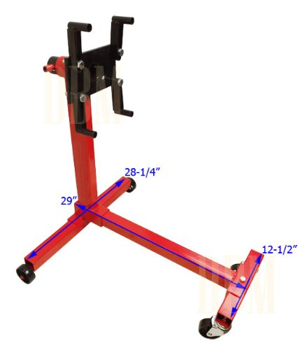Portable 1000 LBS Mobile Engine Stand Dolly Cart 360 Degree Rotating Heavy Duty by Generic (Image #1)