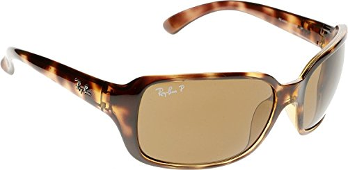 Ray-Ban Highstreet Polarized Sunglasses RB 4068 642/57 +SD Glasses +Cleaning - Ray 4068 Ban