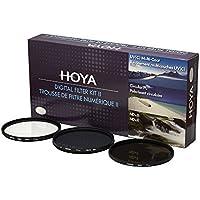 Hoya 49mm Digital Filter Kit With UV(C), Circular Polarizer & NDx8