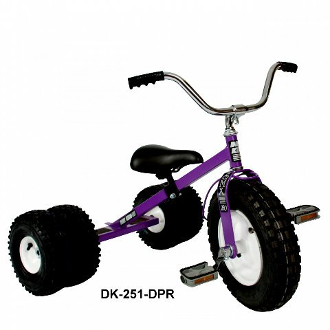 Dually Kid's Tricycle (Purple)
