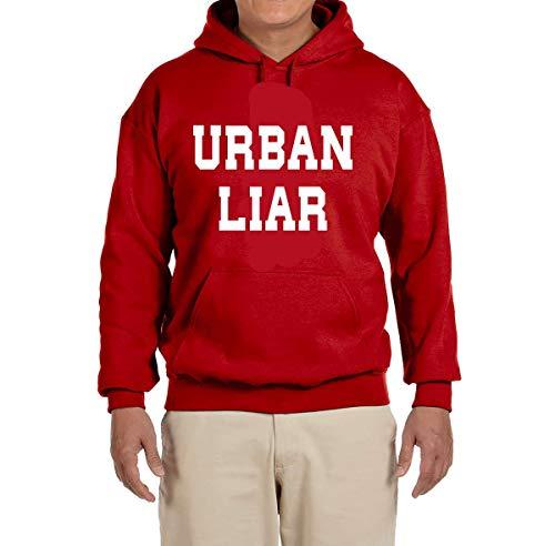 Tobin Clothing RED Urban Liar Hooded Sweatshirt Youth Large