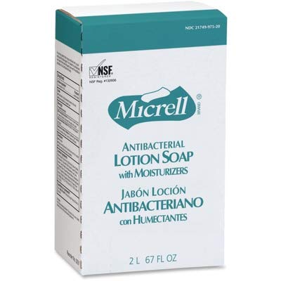 - Gojo Micrell NXT Antibacterial Lotion Soap Refill